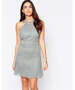 VLabel London | Платье Мини Vlabel Albany Серый