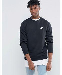 Nike | Черный Свитшот 804340-010 Черный