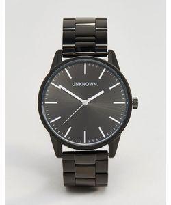 UNKNOWN | Классические Черные Часы-Браслет 39 Мм Черный