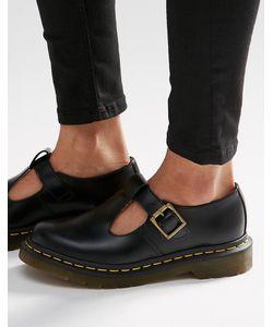 Dr. Martens | Туфли На Плоской Подошве С Т-Образным Ремешком Dr Martens Core Polley