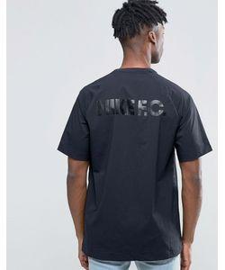 Nike | Черная Футболка Fc 802417-010 Черный