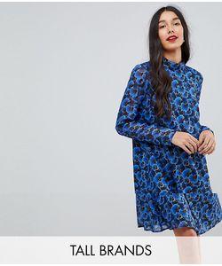 Y.A.S Tall | Свободное Платье С Цветочным Принтом