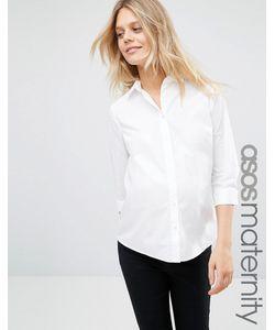 ASOS Maternity | Рубашка Для Беременных С Рукавами 3/4 Белый