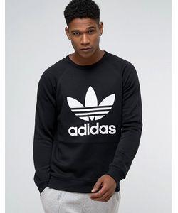 adidas Originals   Свитшот С Круглым Вырезом Trefoil Ay7791 Черный