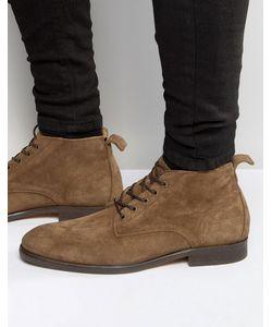 Hudson London   Замшевые Ботинки Cooke Рыжий