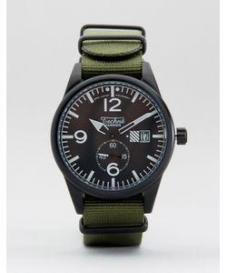 Techne | Часы С Оливковым Ремешком Harrier Nato Зеленый