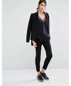 Vero Moda | Укороченные Брюки Черный