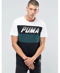 Puma | Черная Футболка С Круглым Вырезом Speed Font 57155332 Черный