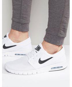 Nike SB | Белые Кроссовки Stefan Janoski Max 631303-100 Белый