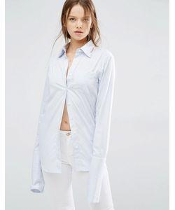 Style Mafia | Рубашка В Полоску Hj Синий
