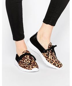 YRU | Кроссовки Beam Leopard С Леопардовым Принтом