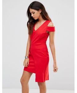 Adelyn Rae | Красное Платье Красный