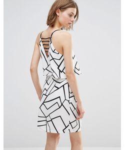 Adelyn Rae | Платье С Вырезом Сзади И Геометрическим Принтом