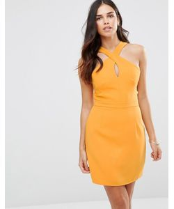 Adelyn Rae | Платье Мини С Перекрестом На Горловине Mango