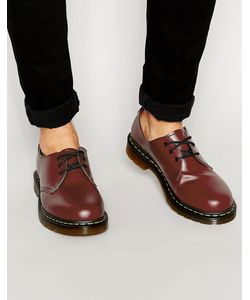 Dr. Martens | Туфли С 3 Парами Люверсов Dr Martens Original Красный