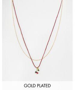 Les Nereides | Ожерелье С Подвескойвишенками Мульти