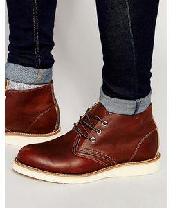 Red Wing | Кожаные Ботинки Чукка Коричневый