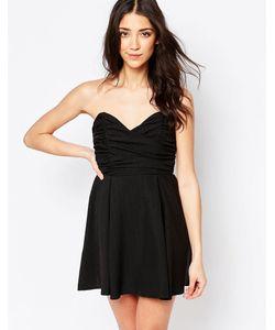 Glamorous | Платье Бэби-Долл Черный
