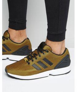 adidas Originals | Золотистые Кроссовки Zx Flux S32275 Золотой