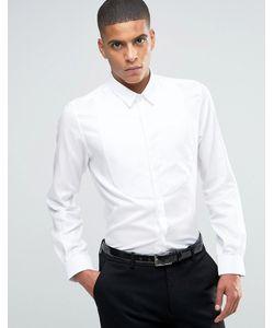 Hart Hollywood | Строгая Рубашка Слим By Nick Hart Белый