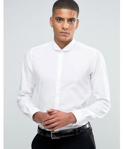Hart Hollywood | Рубашка Зауженного Кроя С Закругленным Воротником By Nick Hart