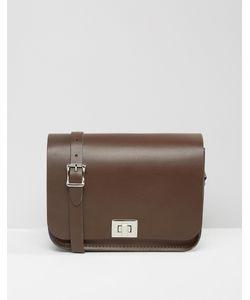 Leather Satchel Company | Сумка Через Плечо The Milk Chocolate
