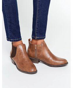Head Over Heels | Светло-Коричневые Ботинки Челси By Dune Piro Рыжий