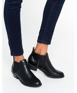 Head Over Heels | Черные Ботинки Челси By Dune Piro Черный