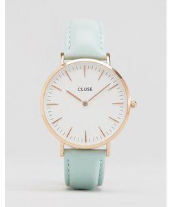 Cluse | Часы Со Светло-Бирюзовым Кожаным Ремешком La Bohème Cl18021