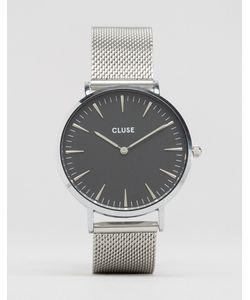 Cluse | Часы С Черным Циферблатом La Bohème Cl18106 Серебряный