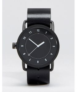 TID | Часы С Кожаным Ремешком No 1 Черный