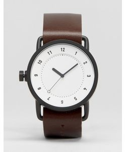 TID | Часы С Кожаным Ремешком И Белым Циферблатом No 1