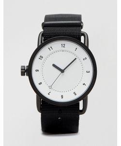 TID | Часы С Парусиновым Ремешком No 1 Черный