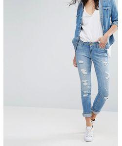 Lee Jeans | Прямые Джинсы В Винтажном Стиле Lee Emlyn Blue Trash