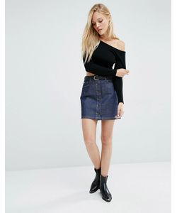 Lee Jeans | Юбка На Пуговицах Lee Anchor Blue