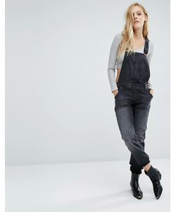 Lee Jeans | Прямой Джинсовый Комбинезон Lee Черный
