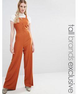 Fashion Union Tall | Комбинезон На Пуговицах Ginger