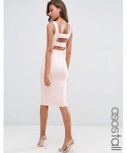 ASOS TALL | Облегающее Платье Миди Телесный