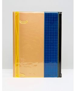 Gifts | Синий Блокнот С Отделением Для Хранения Синий