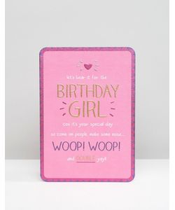 Pigment | Happy Jackson Lets Hear It For Birthday Girl Card