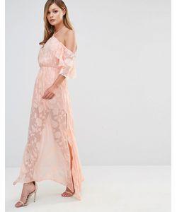 Dark Pink | Платье Макси Peach