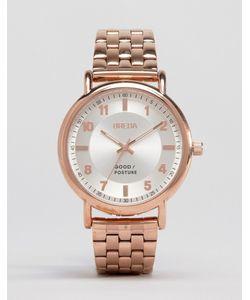 Breda | Наручные Часы Цвета Розового Золота Blossom Розовое Золото