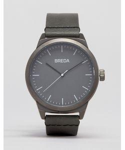 Breda | Серые Часы С Кожаным Ремешком Rand Серый