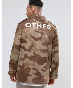 Other UK | Куртка С Камуфляжным Принтом И Карманами Камуфляжный