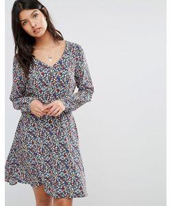 Pepe Jeans | Платье С Цветочным Принтом Lucia 0 Разноцветный