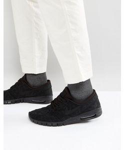 Nike SB | Черные Кроссовки Stefan Janoski Max 631303-099
