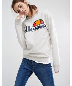 Ellesse | Свободный Свитшот С Логотипом Серо Меланж