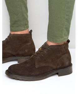 Hudson London | Замшевые Ботинки Garrodd Коричневый