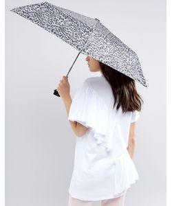 Totes | Зонт С Леопардовым Принтом