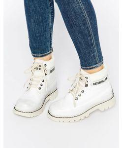 Cat Footwear | Кожаные Ботинки Cat Colorado Burnish Brights Облако